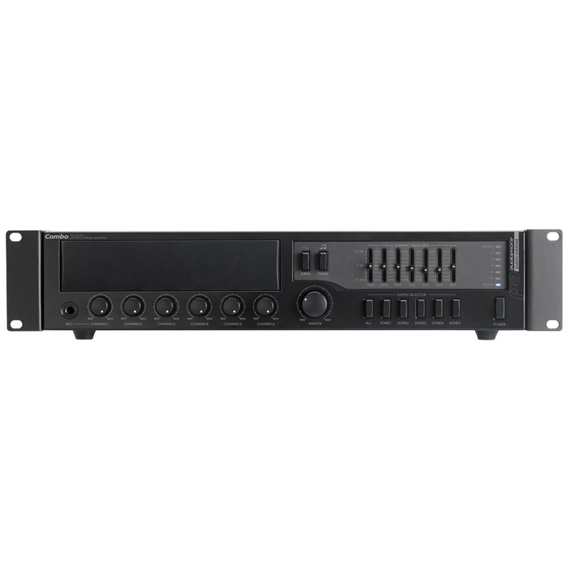 Audiophony COMBO240 Multi-zone mixer/amplifier Multi-zone mixer/amplifier