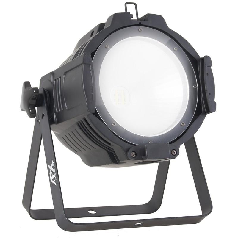 AFX Light PARCOB100HEX Par Can with RGBAW-UV COB LED 6-in-1 - 100W Par Can with RGBAW-UV COB LED 6-in-1 - 100W