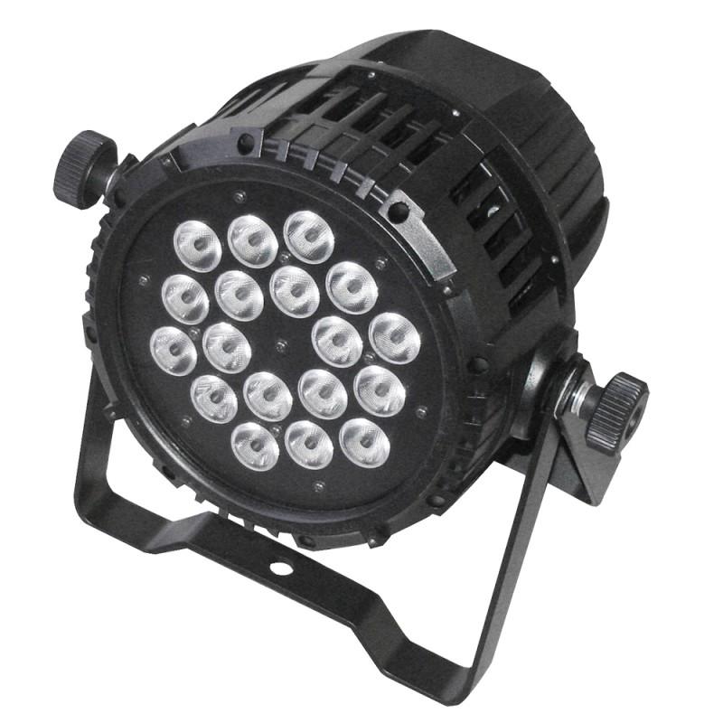 AFX Light IPAR518 LED PAR 18x 15W RGBAW 5in1 Outdoor IP65 LED PAR 18x 15W RGBAW 5in1 Outdoor IP65