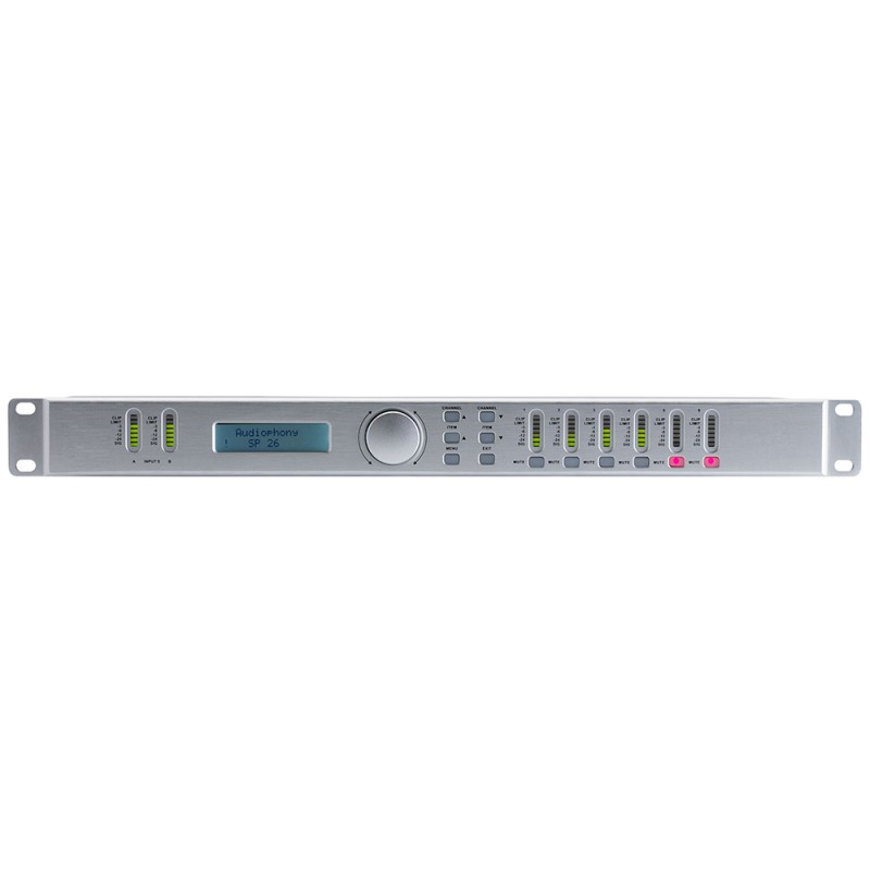 Audiophony SP26 Sound processor 2IN6OUTWith software Sound processor 2IN6OUTWith software