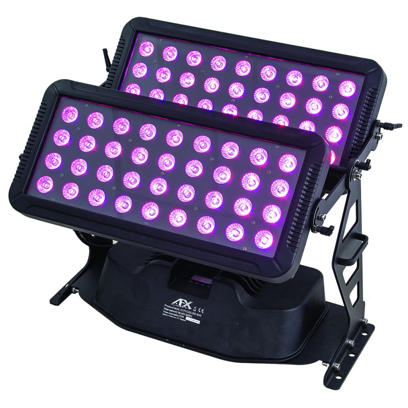 AFX Light CITYCOLOR800 LED Wall Washer 72x 12W RGBW 4in1 IP65 LED Wall Washer 72x 12W RGBW 4in1 IP65