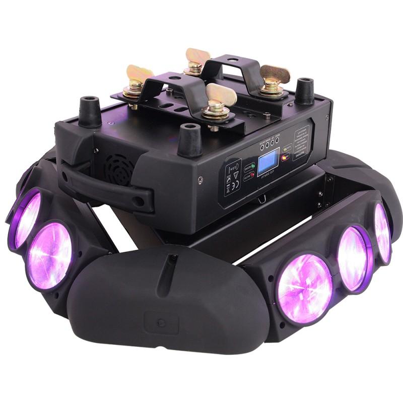 AFX Light 9BEAM-FX LED Spider light effect 9x 12W RGBW 4in1 LED Spider light effect 9x 12W RGBW 4in1