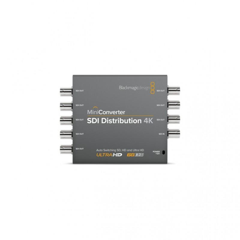 Blackmagic Design CONVMSDIDA4K Mini Converter - SDI Distribution 4K Mini Converter - SDI Distribution 4K
