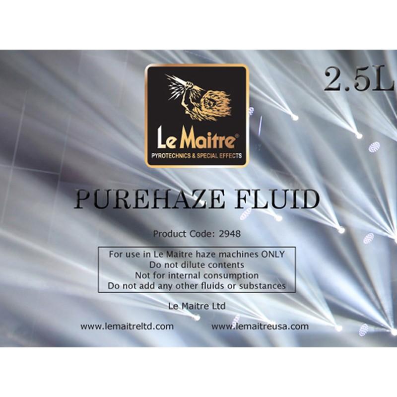 Le Maitre 2908 Purehaze Fluid 4x 5lt Purehaze Fluid 4x 5lt